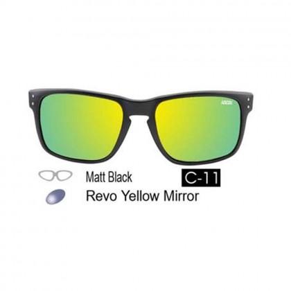4GL Ideal 8834 Polarized Sunglasses Holbrook (Frame Matte Black)
