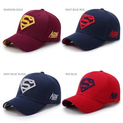 4GL SUPERMAN CAP Men Women Unisex Sport Cap Snapback Hat