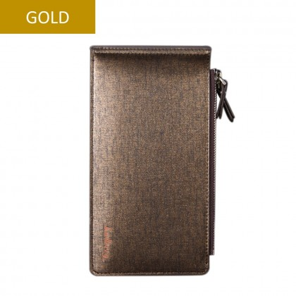 4GL Baellerry CA013 Long Wallet Handphone Men Women Wallet Purse Dompet