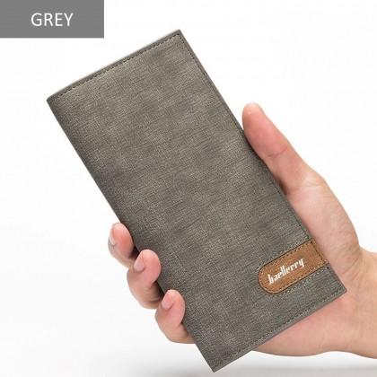 4GL Baellerry 13856-3 Long Wallet Purse Men Wallet Card Holder Dompet