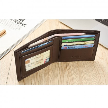 4GL Baellerry R579 Short Wallet Fashion Men Wallet Purse Dompet