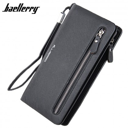 4GL Baellerry N1502 Handphone Purse Long Zipper Wallet Wristlet