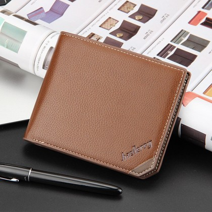 4GL Baellerry Men Women Wallet Short Purse Leather DG128