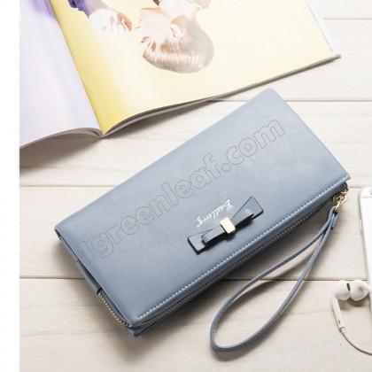 Baellerry 5503-3 Handphone Purse Long Zipper Wallet Wristlet