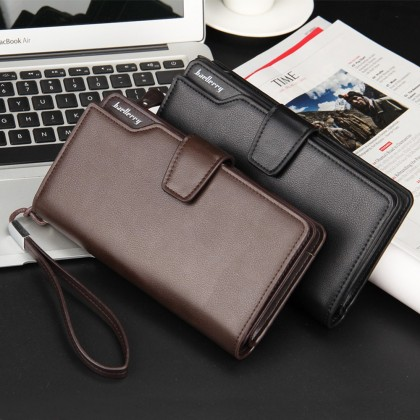 4GL Baellerry S1063 23 Card Slots Long Wallet Leather Dompet