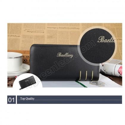 Baellerry Premium Leather long Wallet Purse S6111