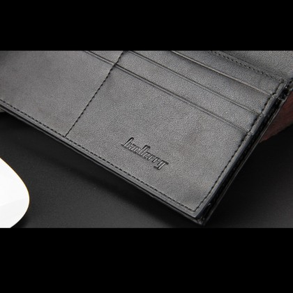 4GL Baellerry C0730 Long Wallet Purse Men Wallet Card Holder Dompet