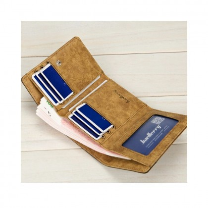 4GL BAELLERRY Men Canvas Wallet Wallet Card Holder Purse Dompet 3688