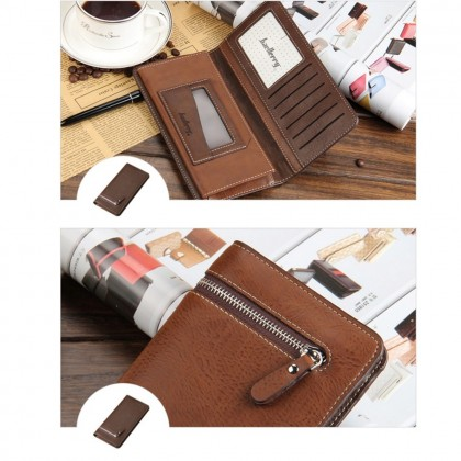 4GL Baellerry 128-3 Long Wallet Designer Purse Men Wallet Card Holder