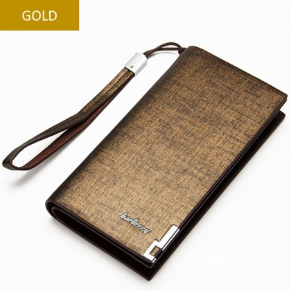 4GL Baellerry SW002/SW004 Long Wallet Handphone Men Women Purse Leather
