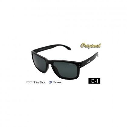 4GL Ideal 8834 Polarized Sunglasses Holbrook (Frame Shine Black)