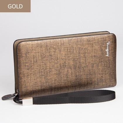 4GL Baellerry A119 Long Wallet Premium PU Leather Men Wallet Purse Dompet