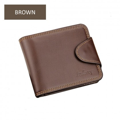 4GL BAELLERRY Men Women Wallet Short Purse Leather Dompet DA401