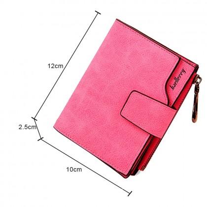 4GL Baellerry 138 Women Wallet Short Purse Leather