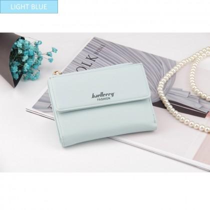 4GL Baellerry N2348 Women Wallet Short Purse Leather