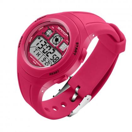 4GL Sanda 331 Watch Water Resistant LED Sports Jam Tangan