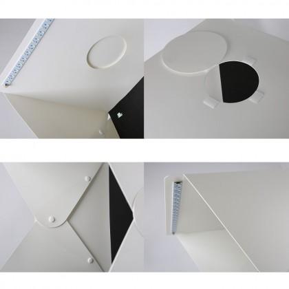 4GL 40cm(L) Button Version Portable Photo Studio LED Light