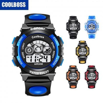 4GL CoolBoss / Cooboss CB-Kids Watch Sports Digital LED Jam Tangan