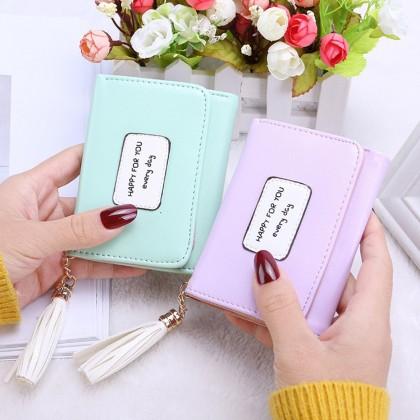 4GL HFY Korean Fashion Women Short Purse Wallet