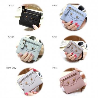 4GL X102 Korean Fashion  Cute Women Short Purse Wallet