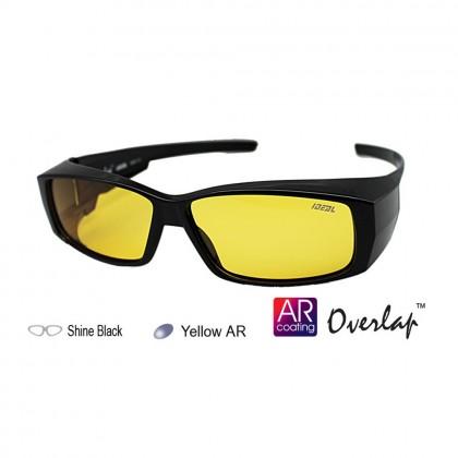 4GL Ideal 8890 Polarized Sunglasses FitOver Overlap
