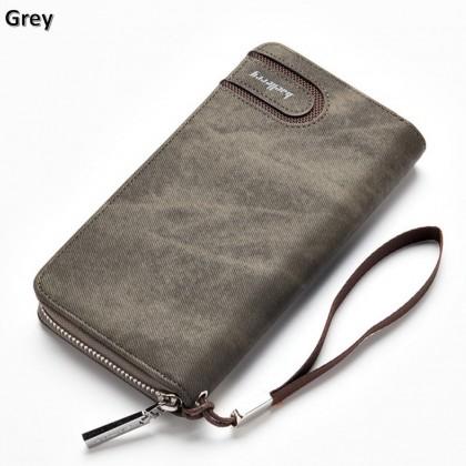 4GL Baellerry Premium Leather long Wallet Purse S1514