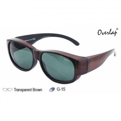 4GL Ideal 588-8891 Polarized Sunglasses Fit Over Overlap