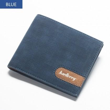4GL Baellerry 13856-1 Men Women Wallet Short Purse Dompet Cross