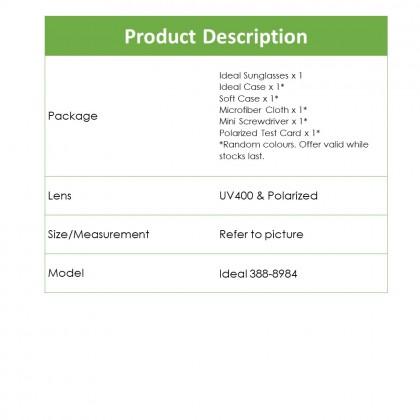 4GL Ideal 388-8984 Polarized Sunglasses Sport UV 400