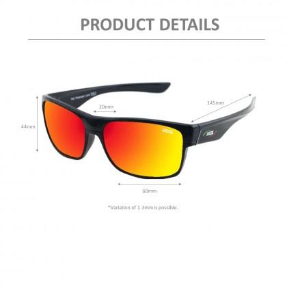 4GL Ideal 388-8985 Polarized Sunglasses Sport UV 400