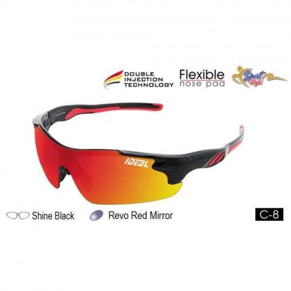 4GL Ideal 388-8993 Polarized Sunglasses Sport UV 400