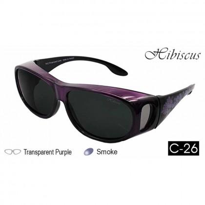 4GL IDEAL 588-8936 Fit Over Overlap Polarized Sport Sunglasses UV 400