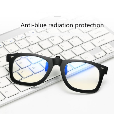 4GL 2140 Anti Blue Light Clip-On Glasses
