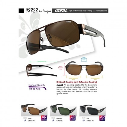 4GL Ideal 98828 Polarized Sunglasses In Vogue UV400