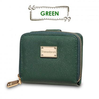 4GL Korea Fashion Trena 002 Women Short Purse Wallet With Coin Pocket