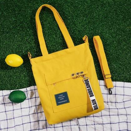 4GL Living Traveling Share 001 Sling Bag Fashion Canvas Tote Bag