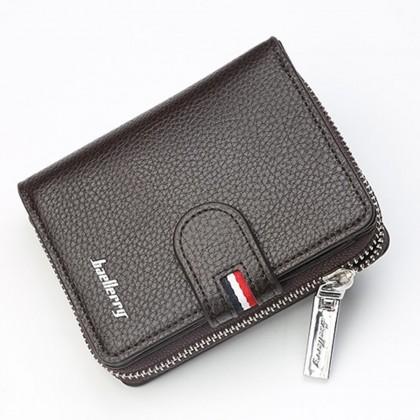 4GL Baellerry D1103 Men Wallet Zipper Purse Wristlet Dompet