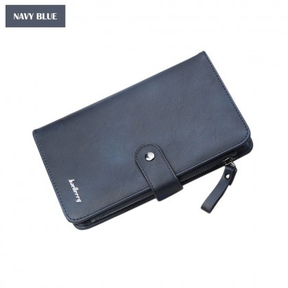 4GL Baellerry NC224 Mobile Pouch Men Women Zipper Wallet Purse Dompet