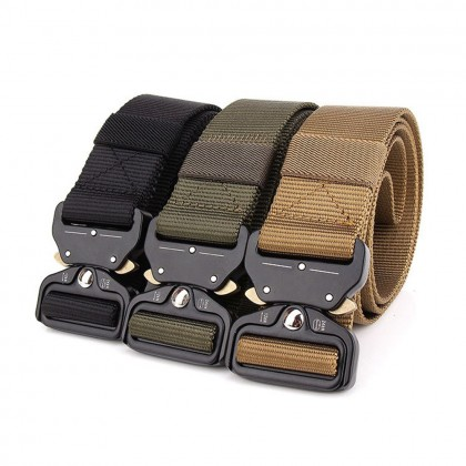 4GL Army Belt Men Military Tactical Heavy Duty Tali Pinggang