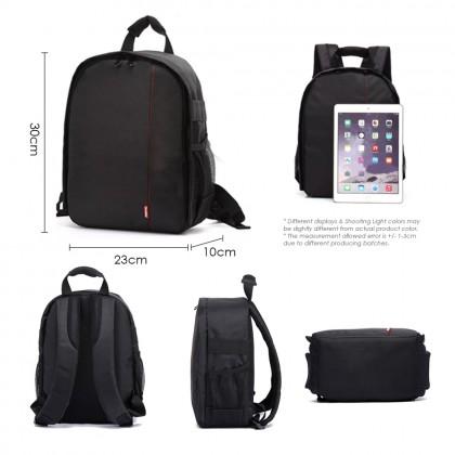 4GL Ferndean Lightweight Nylon Waterproof DSLR Camera & Lens Storage Bag (30cmx10cmx23cm)