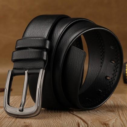 4GL Men Belt Fashion Plain Leather Belt Tali Pinggang G0623