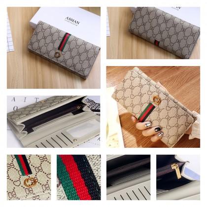 4GL Fashion LG0112 Love Flower Design Long Zipper Coin Purse Wallet Card Holder Beg A0339