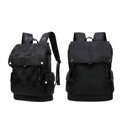 4GL 168 Polyester Backpack Bag Pack School Laptop Bag Beg Sekolah Bag Sekolah
