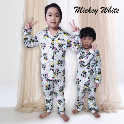 4GL KIDS CARTOON Pyjamas Kid Baju Tidur Budak Lelaki Baju Tidur Budak Perempuan Baju Budak Lelaki Baju Budak Perempuan